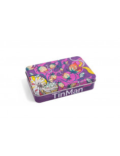 TinMan Tin Case GRASSHOPER - Konik Polny Pudełko schowek metalowy
