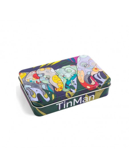 TINMAN ELEPHANTS - Słonie Pudełko schowek metalowy TIN CASE puszka