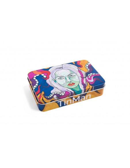 TINMAN OCTOPUS WOMAN - Ośmiornica Pudełko schowek metalowa puszka