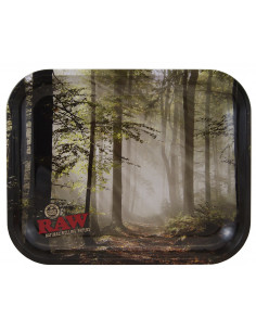 Obraz produktu: raw forest large tacka do zwijania jointów rolling tray metalowa