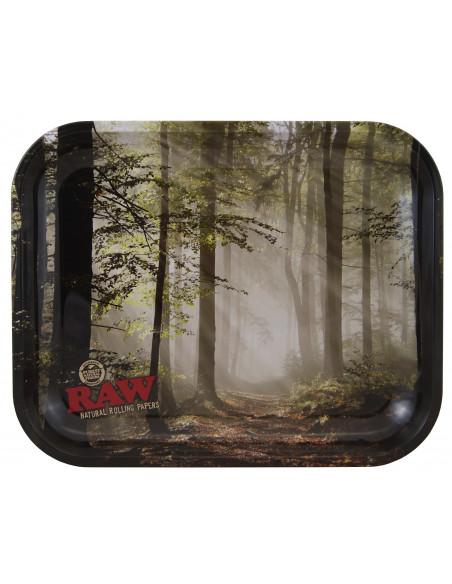 RAW FOREST LARGE tacka do zwijania jointów rolling tray metalowa