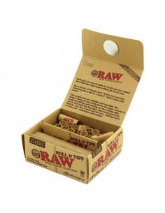 RAW Masterpiece KING SIZE bibułka w rolce 3metry + gotowe filterki