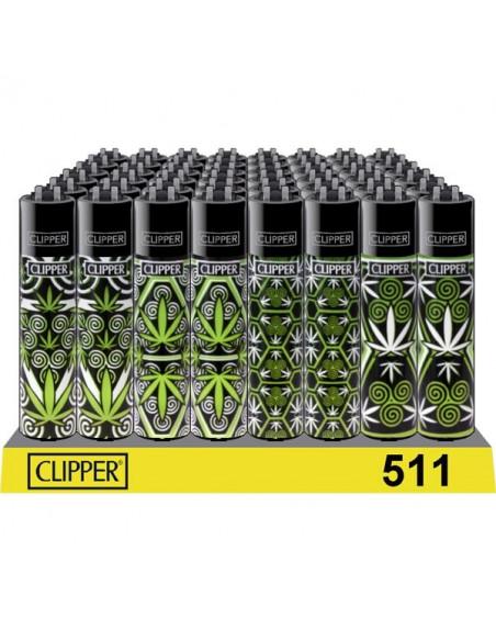 Clipper zapalniczka WEED PATTERN2 zioło 4 wzory