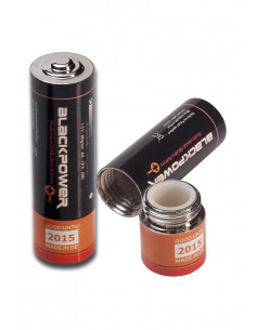 Schowek Bateria - mała skrytka w formie baterii Pillbox stash