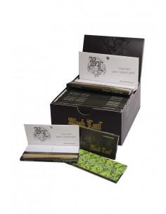 Obraz produktu: black leaf unbleached bibułki z filterkami z magnetycznym zamknięciem