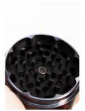 Black Leaf NON-STICK młynek grinder z nieklejącymi się ząbkami aluminiowy