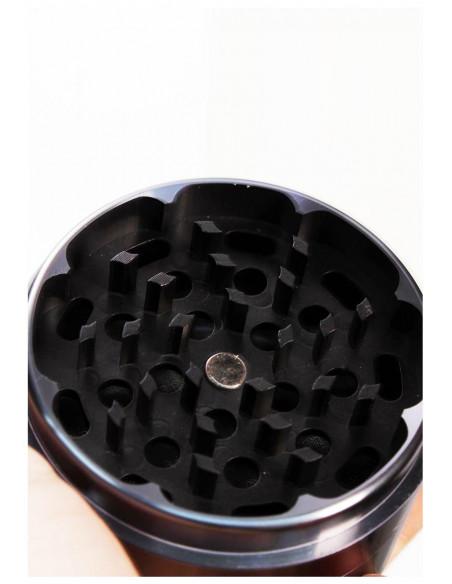 Black Leaf NON-STICK młynek grinder z nieklejącymi się ząbkami 62mm