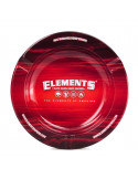 Popielniczka metalowa  z magnesem ELEMENTS RED 5.5""