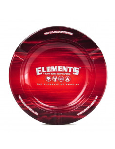 Obraz produktu: popielniczka metalowa  z magnesem elements red 5.5""