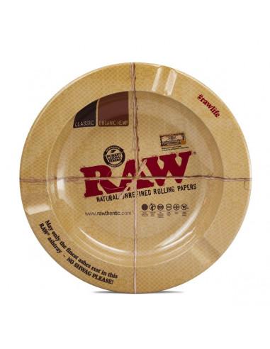 "Metal ashtray with magnet RAW 5.5 ""Original Ashtray"