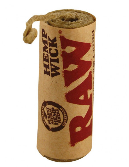 RAW knot konopny 6m - HEMP WICK natural 6m