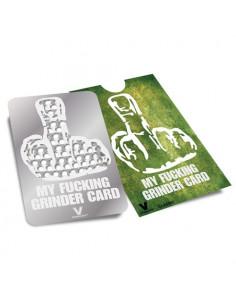 Karta grinder V-Syndicate wzór My F*CKING GRINDER