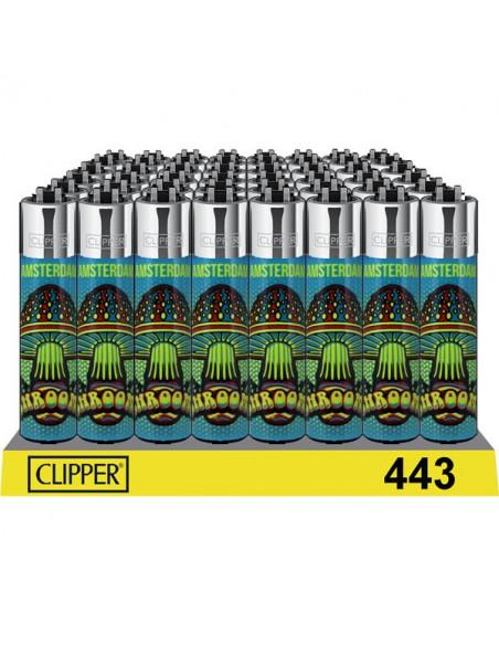 Zapalniczka Clipper wzór AMSTERDAM MUSHROOM GRZYB