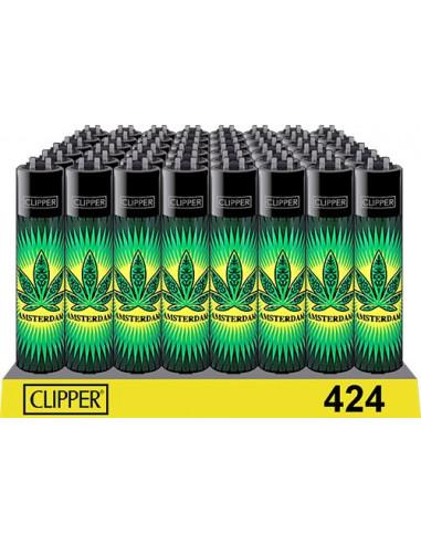Clipper Amsterdam flash leaf lighter