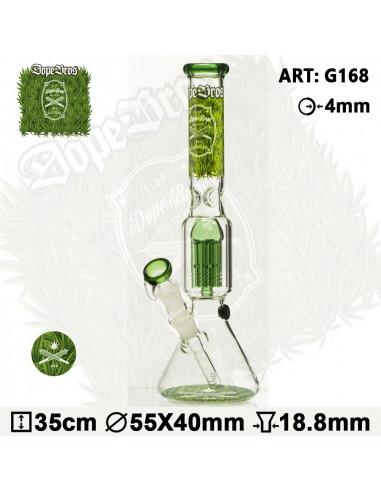 Bongo Dope Bros X Amsterdam GRASS 36cm 6x dyfuzor 18.8mm fajka wodna