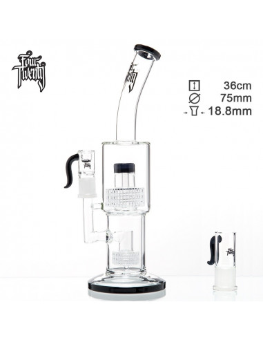 FOURTWENTY 420 BONGO 36cm MATRIX percolator fajka wodna