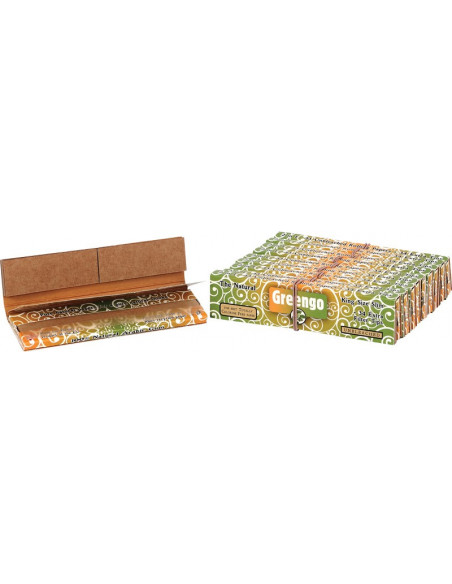 GREENGO KING SIZE SLIM 2IN1 UNBLEACHED PAPERS  GREENGO 1 szt.