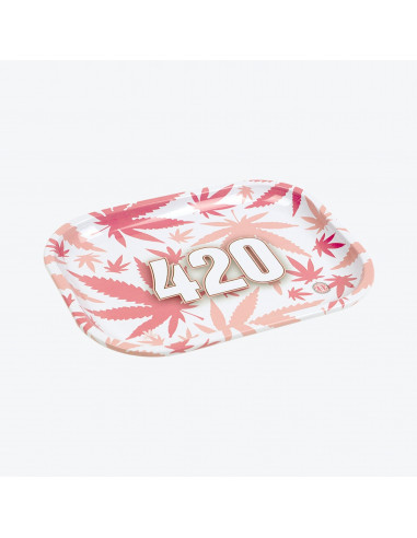 V-SYNDICATE 420 PINK Tacka do zwijania jointów