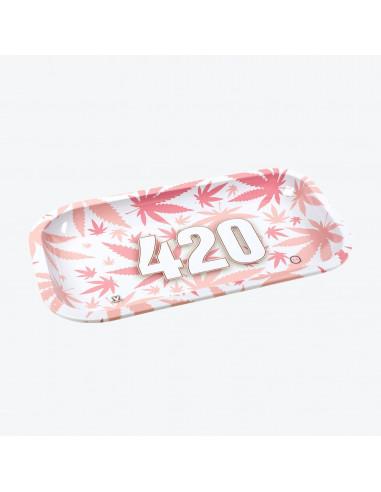 V-SYNDICATE 420 PINK Tacka do zwijania jointów 27x16 cm