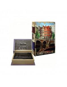 STASH BOOK- Pudełko w kształcie książki do przechowywania akcesoriów do palenia