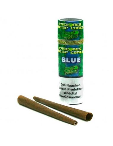 Cyclones Blunts Blue 2 pcs. Blueberry flavor
