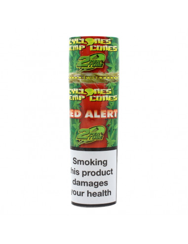Cyclones Blunts Red Alert 2 pcs. With strawberry flavor