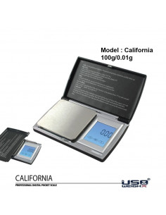 California waga elektroniczna 0,01g 100g USA Weigh dotykowa