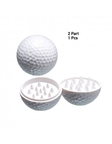 Golf ball grinder grinder kraszer 40mm 2 parts