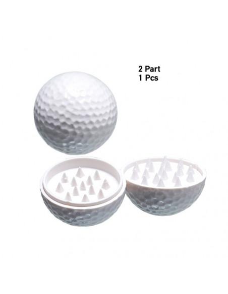 Piłka do golfa młynek grinder kraszer 40mm 2 częśćiowy