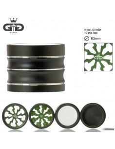 GRACE GLASS THUNDER 60mm 4 częściowy młynek grinder z sitkiem