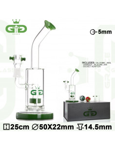 Obraz produktu: bongo grace glass nectar green wys.25 cm szlif 14.5 mm