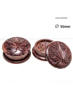 Młynek drewniany Rosewood 2-częściowy śr.55 mm