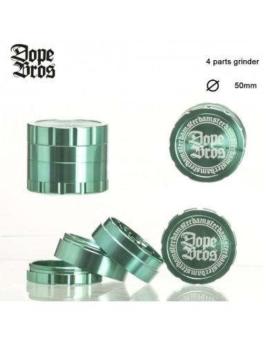 Młynek Dope Bros 4-częściowy zielony śr. 50 mm