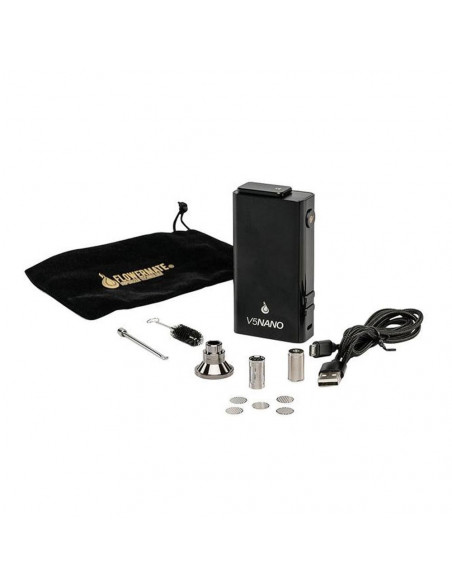 Flowermate V5 Nano Vaprorizer for dry and wax