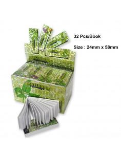 Amsterdam Leaf Large Size filters 24x58 mm 32 pcs.