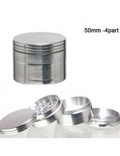 Młynek, grinder 4-częściowy metalowy śr. 50 mm
