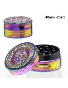 Grinder Amsterdam Rainbow 2-częściowy śr. 40 mm