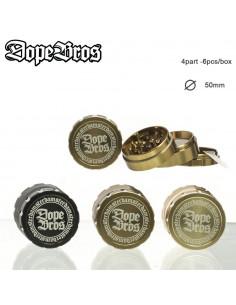 Młynek do ziół Dope Bros 4-częściowy śr. 50 mm