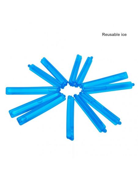Wkładka lód Reusable Ice do bonga, fajki wodnej 10 szt.