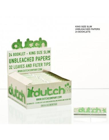 Bibułki Dutch King Size z filterkami 32 szt.