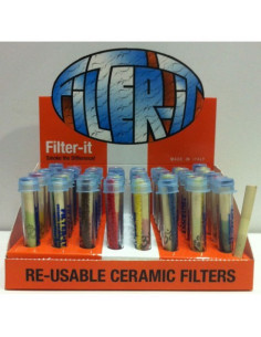 Filter IT ceramic twist filter
