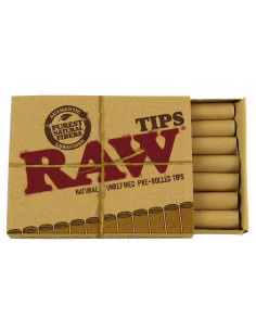 RAW Prerolled Tips Filtry do jointów