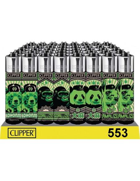 Zapalniczka Clipper wzór 420 ANIMALS