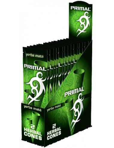Primal Herbal Wraps YERBA MATE naturalne skręcone blunty