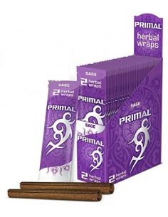 Primal Herbal Wraps SAGE naturalne skręcone blunty
