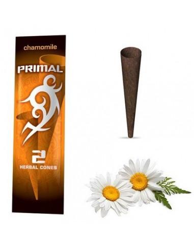 Primal Herbal Wraps CAMMOMILE 100% naturalne skręcone blunty