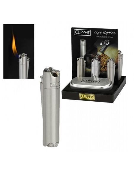 Zapalniczka do fajki Clipper Pipe Silver Metal