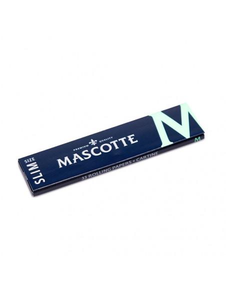 Bibułki Mascotte Slim Size M ultra-cienkie bibułki 34 szt.