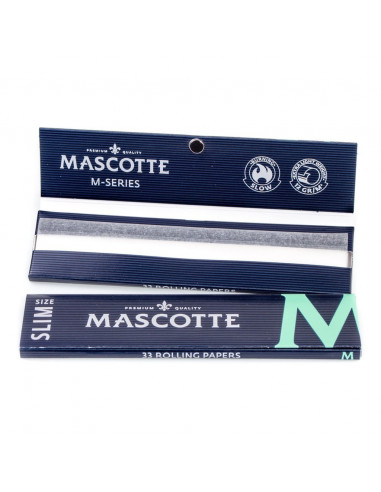 Tissues Mascotte Slim Size M ultra-thin tissue papers 34 pcs.