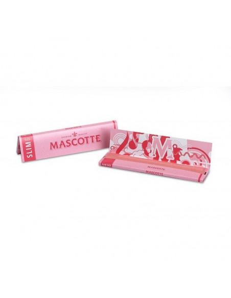 Bibułki Mascotte Slim Pink Edition 34 szt.
